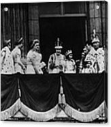 British Royal Family. From Center, L-r Acrylic Print