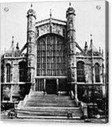British Royalty. St. Georges Chapel Acrylic Print