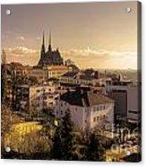 Brno Skyline  Acrylic Print