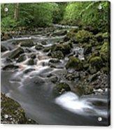 Broadwood Falls Hdr Acrylic Print