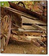 Broke Spoke I Acrylic Print by Charles Warren