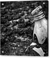 Broken Plastic Bottle Acrylic Print