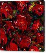 Broken Roses Acrylic Print