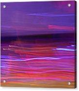 Broken Waves Acrylic Print
