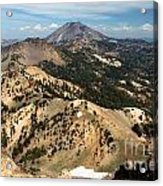 Brokeoff Mountain Scenery Acrylic Print