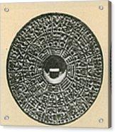 Bronze Compass, Ming Dynasty Acrylic Print