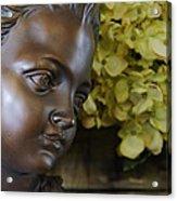 Bronze Gaze Acrylic Print