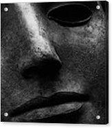 Bronze Mask Acrylic Print