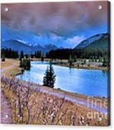 Brooding Skies Acrylic Print