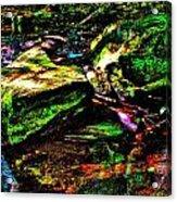 Brook Texture 127 Acrylic Print