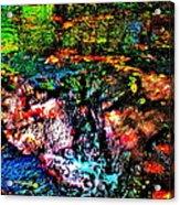 Brook Texture 133 Acrylic Print