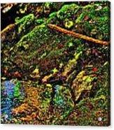 Brook Texture 49 Acrylic Print