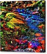Brook Texture 52 Acrylic Print