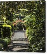 Brookgreen Gardens Path Acrylic Print