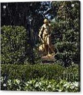 Brookgreen Golden Statue Acrylic Print