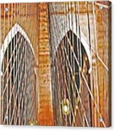 Brooklyn Bridge Arch Acrylic Print
