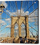 Brooklyn Bridge Summer Acrylic Print