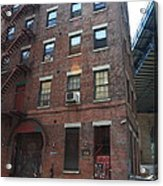Brooklyn New York - 126 Front Street. Acrylic Print