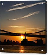 Brooklyn Sunrise Acrylic Print