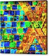 Brooklyn Tile Abstract Acrylic Print