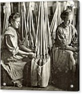Broom Manufacture, 1908 Acrylic Print by Granger