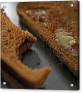 Brown Bread With Butter Acrylic Print