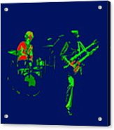 Bruford And Rutherford Blue 2 Acrylic Print