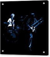 Bruford And Rutherford Blue Acrylic Print