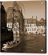 Bruges Canal Acrylic Print