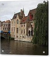 Brugge Acrylic Print