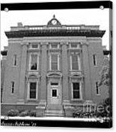 Brunswick Historical Court House Acrylic Print