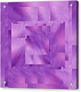 Brushed Purple Violet 10 Acrylic Print
