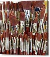 Brushes Acrylic Print