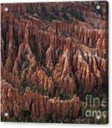 Bryce Canyon At Dusk Acrylic Print