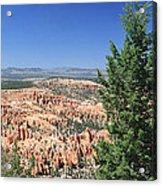 Bryce Canyon Panoramic Acrylic Print