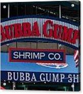 Bubba Gump Acrylic Print