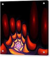 Bubble Art 2 Acrylic Print