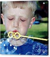 Bubble Boy Acrylic Print