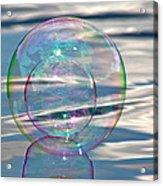 Bubble In A Bubble Acrylic Print