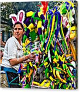Bubbles And Bunny Ears Acrylic Print