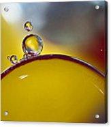 Bubbles Vi Acrylic Print