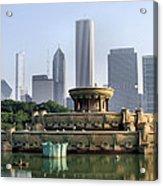 Buckingham Fountain - 1 Acrylic Print