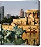 Buckingham Fountain - 3 Acrylic Print