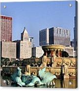 Buckingham Fountain - 4 Acrylic Print