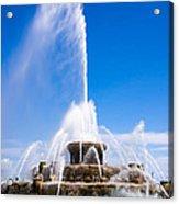 Buckingham Fountain In Chicago Acrylic Print