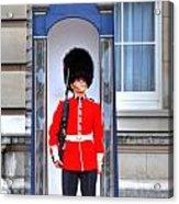 Buckingham Palace Acrylic Print by Barry R Jones Jr