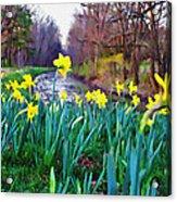 Bucks County Spring Acrylic Print