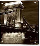 Budapest Nights Acrylic Print