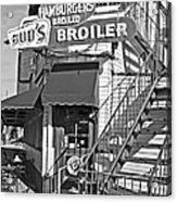 Bud'd Broiler New Orleans-bw Acrylic Print