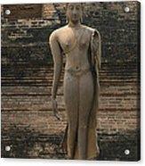 Buddha At Sukhothai 3 Acrylic Print